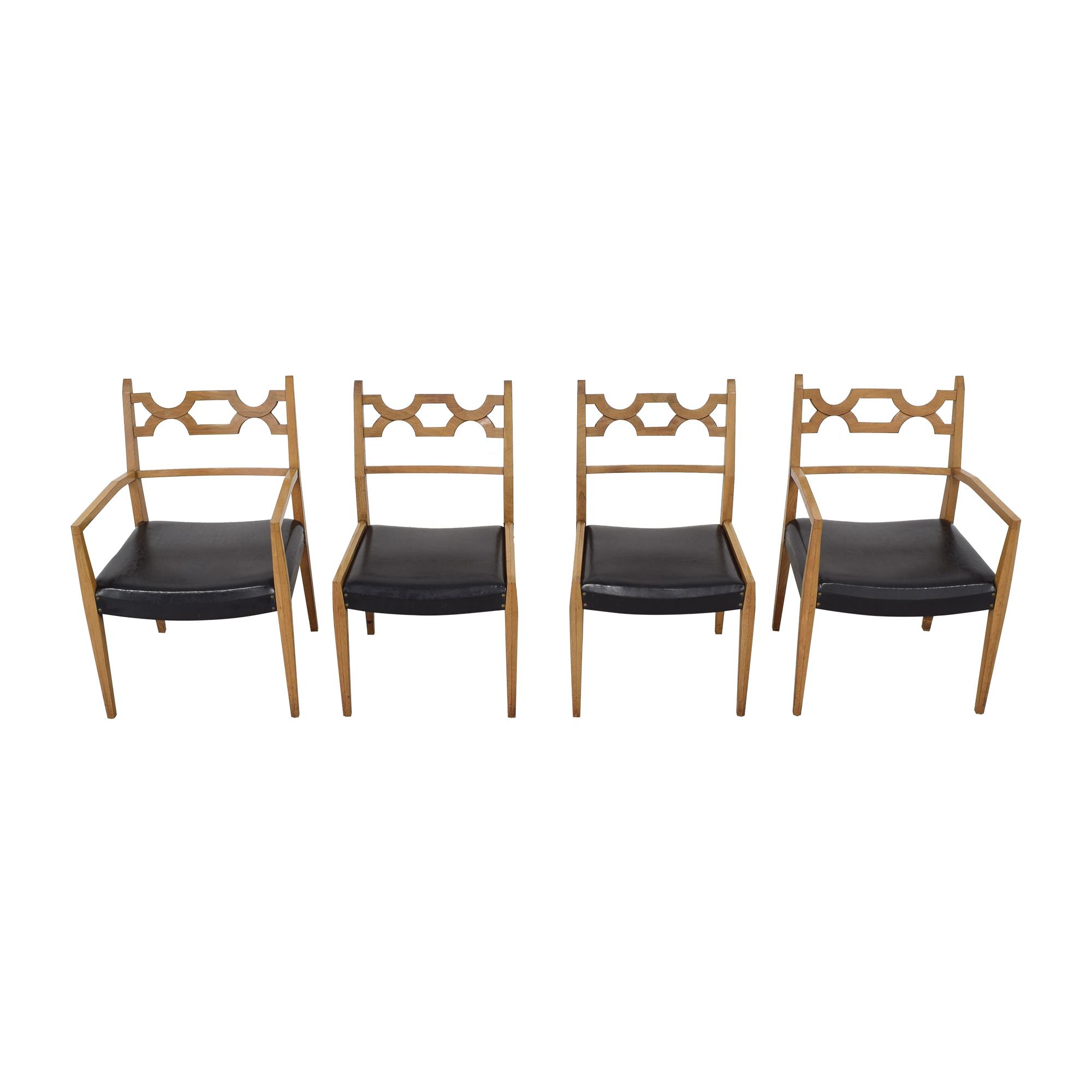 John Stuart Inc. John Stuart Mid-Century Dining Chairs