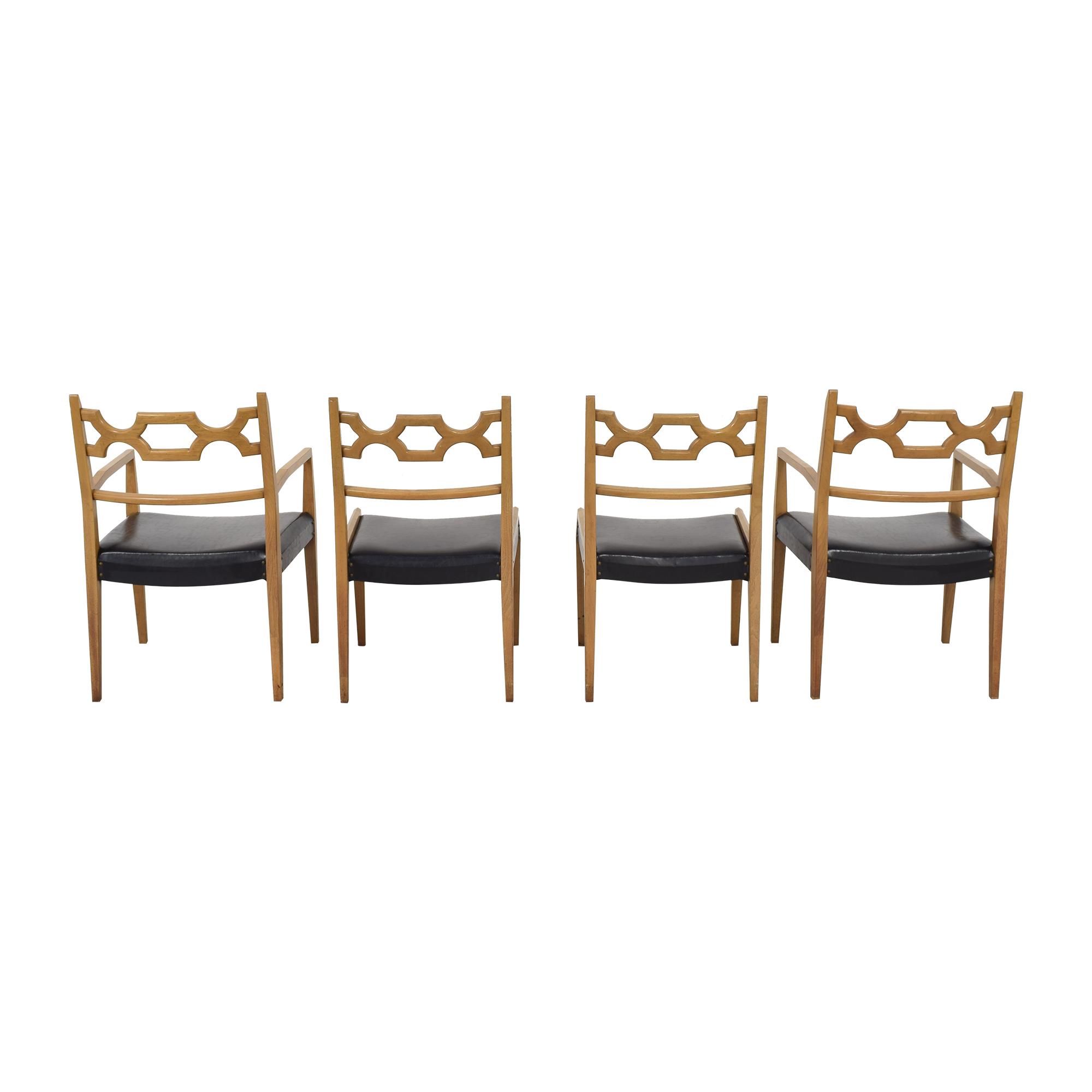 John Stuart Inc. John Stuart Mid-Century Dining Chairs pa
