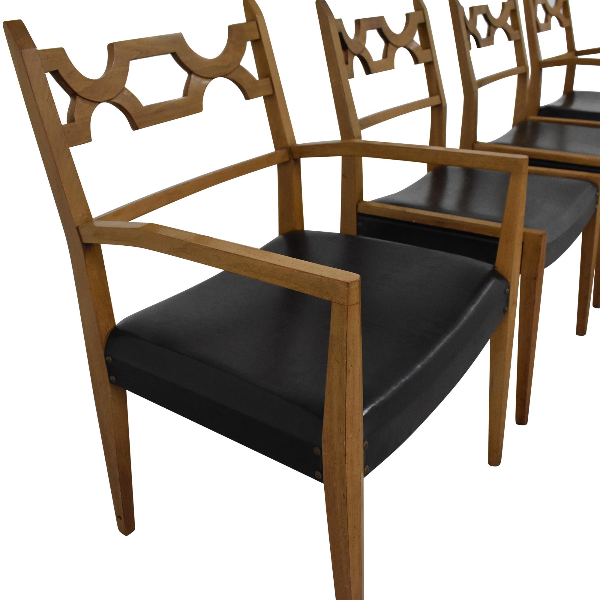 John Stuart Inc. John Stuart Mid-Century Dining Chairs nyc