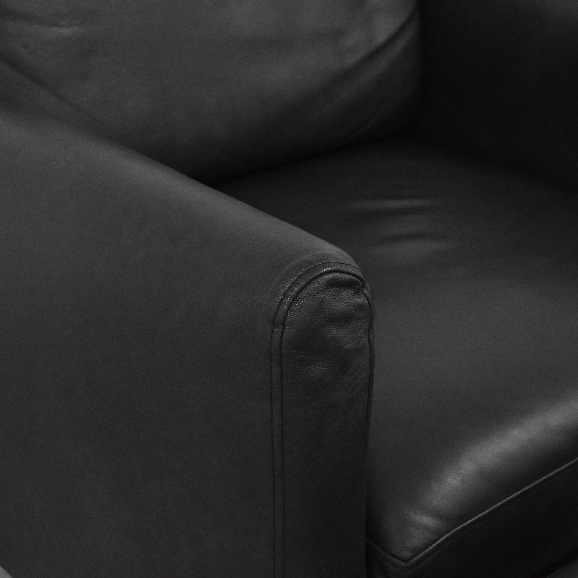 Burrow Arch Nomad Club Chair with Ottoman sale