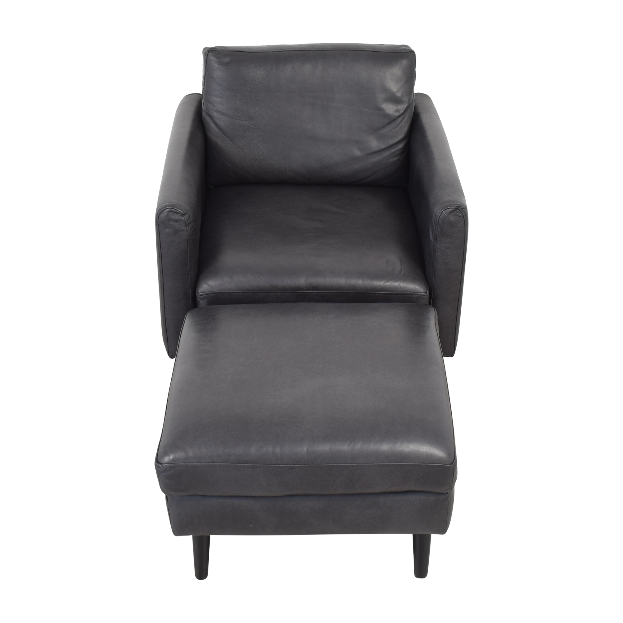 Burrow Burrow Arch Nomad Club Chair with Ottoman price