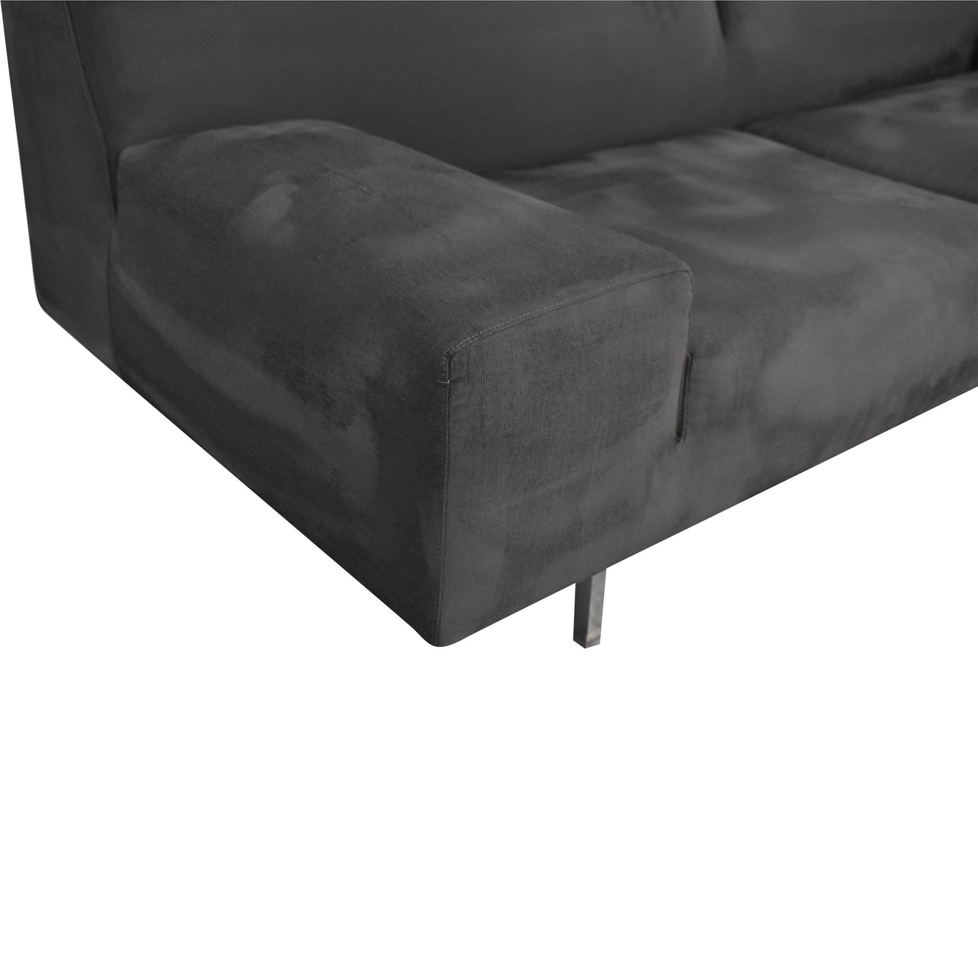 Molteni Molteni Modern Sofa grey