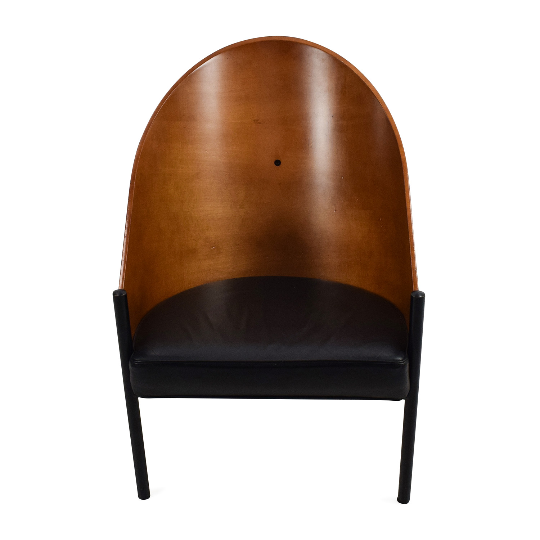Vintage Wooden 3-Leg Chair nj