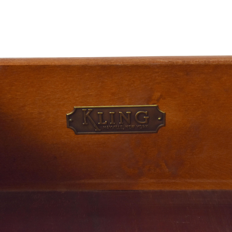 Kling Kling Six Drawer Dresser Brown