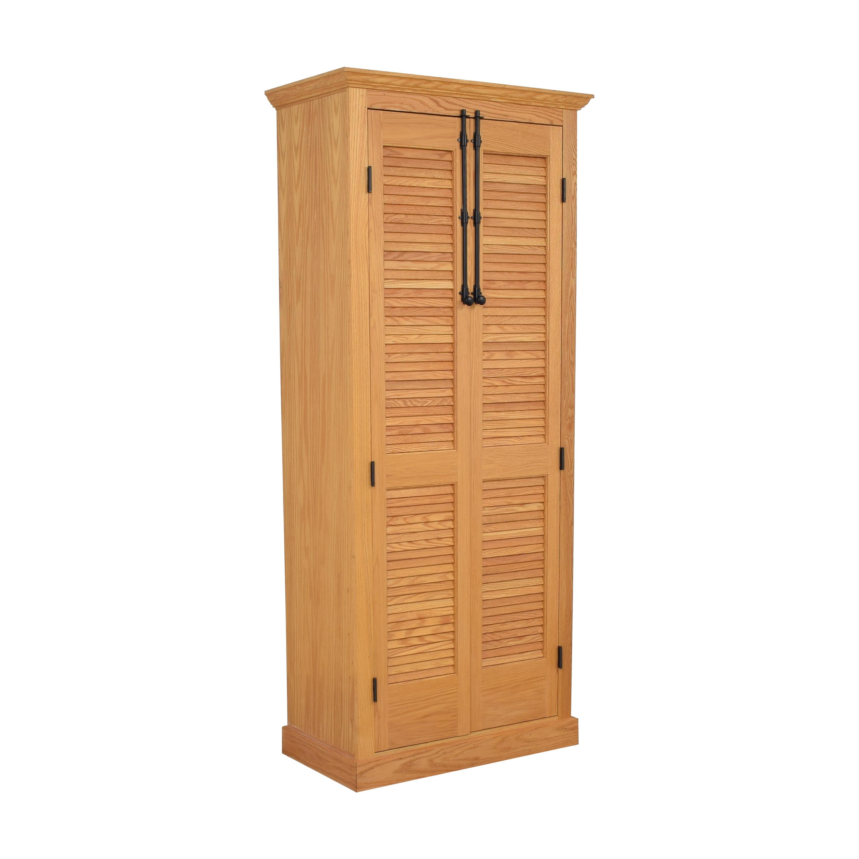 Custom Louvered Door Cabinet nyc