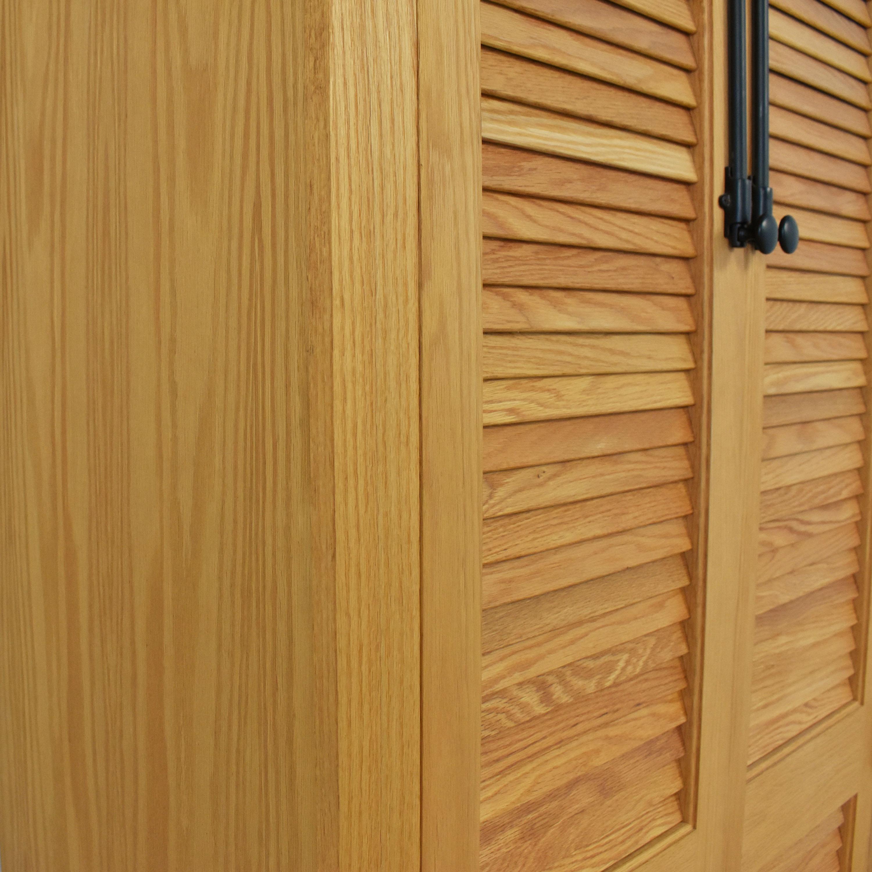Custom Louvered Door Cabinet dimensions