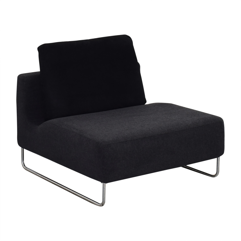 Bensen Bensen Canyon Accent Chair dark grey