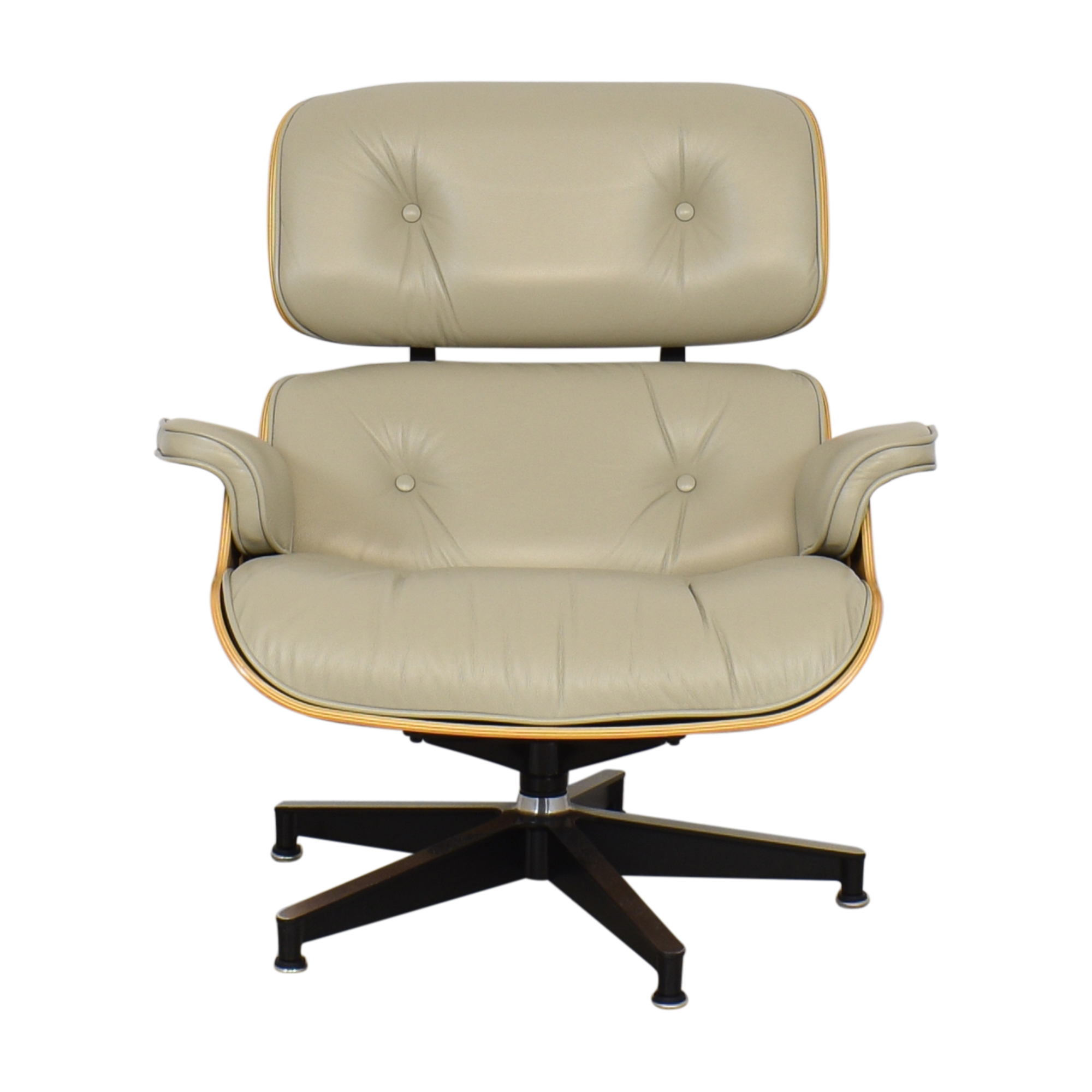shop Herman Miller Eames Lounge Chair and Ottoman Herman Miller Chairs