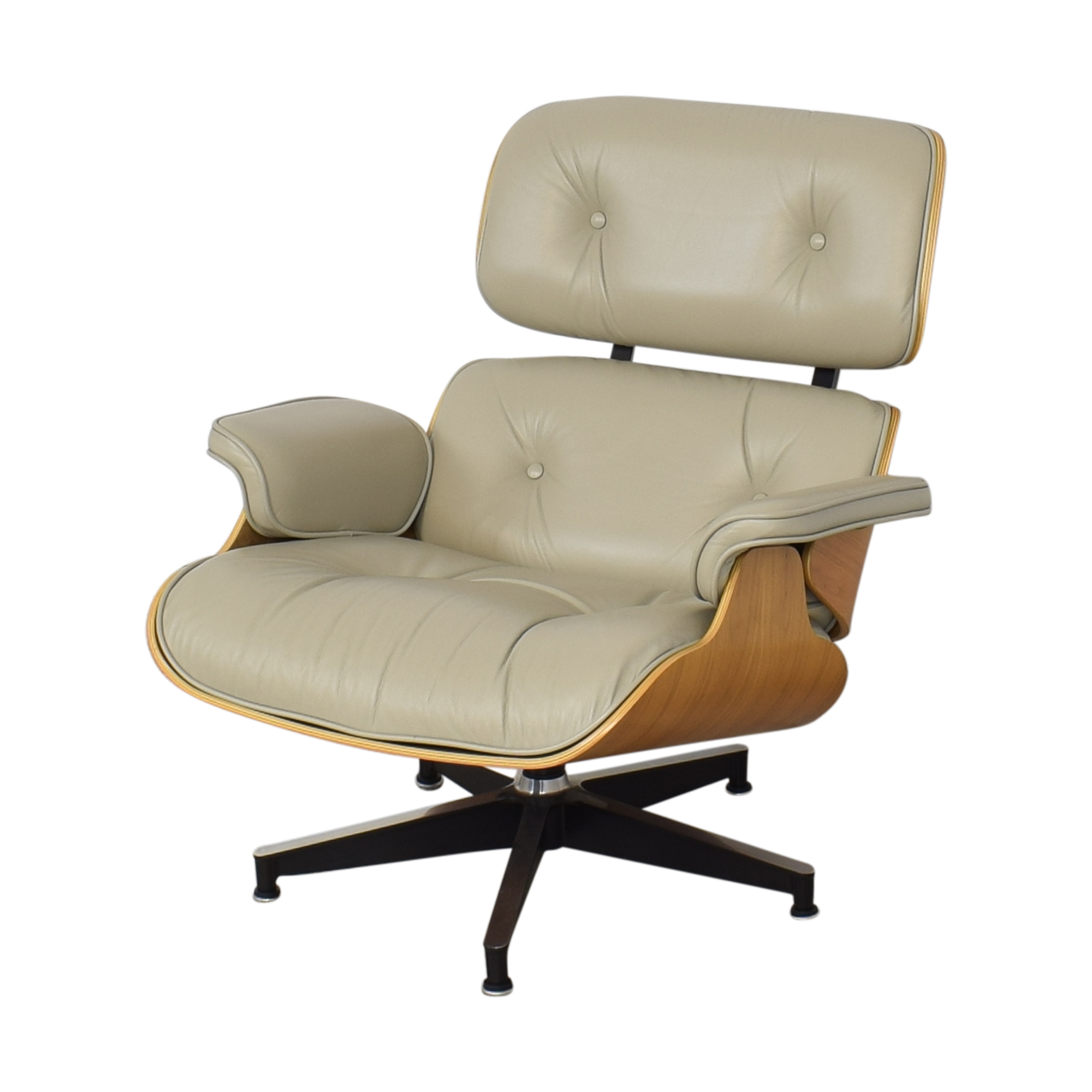 shop Herman Miller Eames Lounge Chair and Ottoman Herman Miller