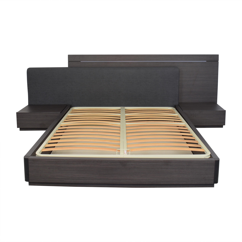 Lazzoni Double Queen Storage Bed Lazzoni