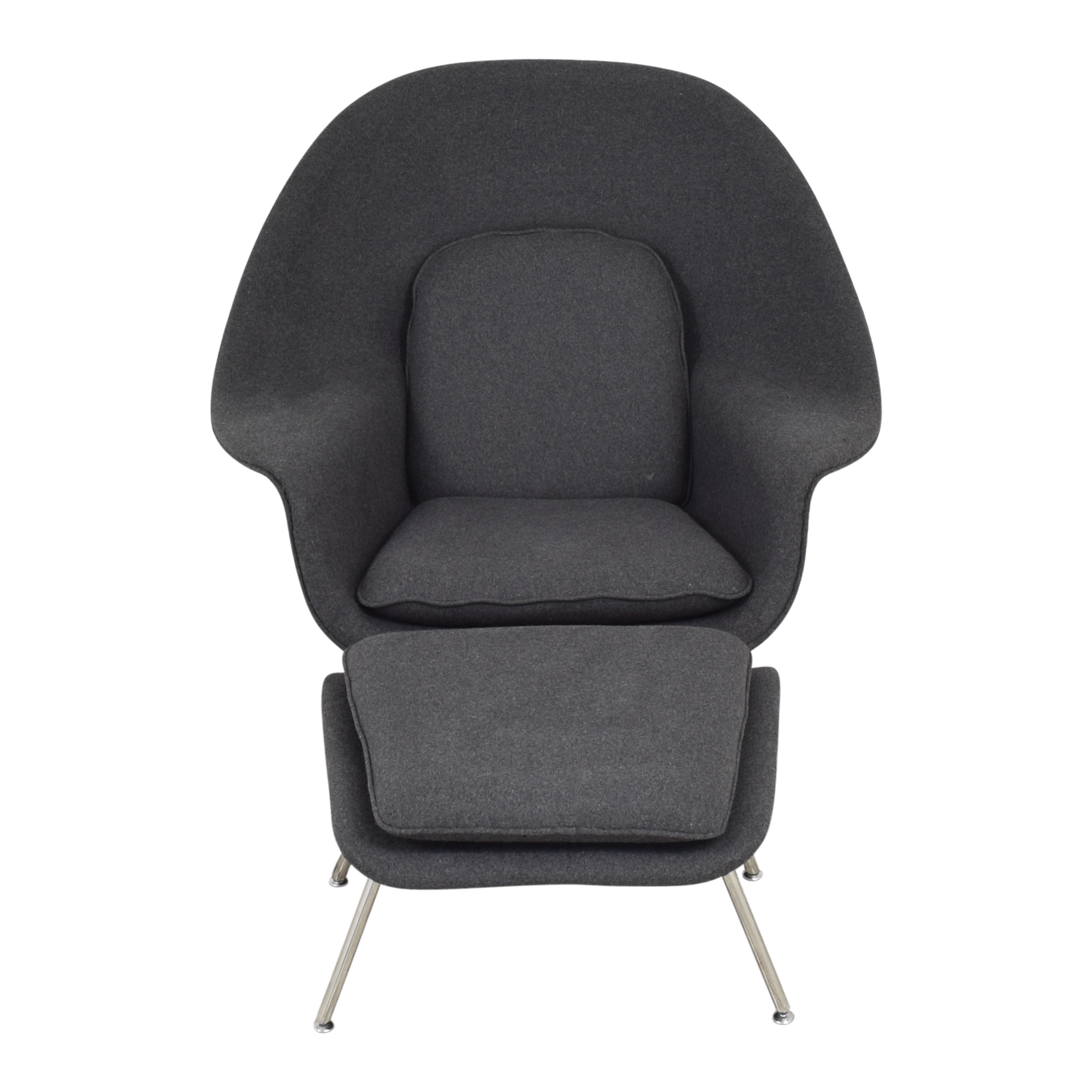 Kardiel Kardiel Replica Womb Chair & Ottoman ct