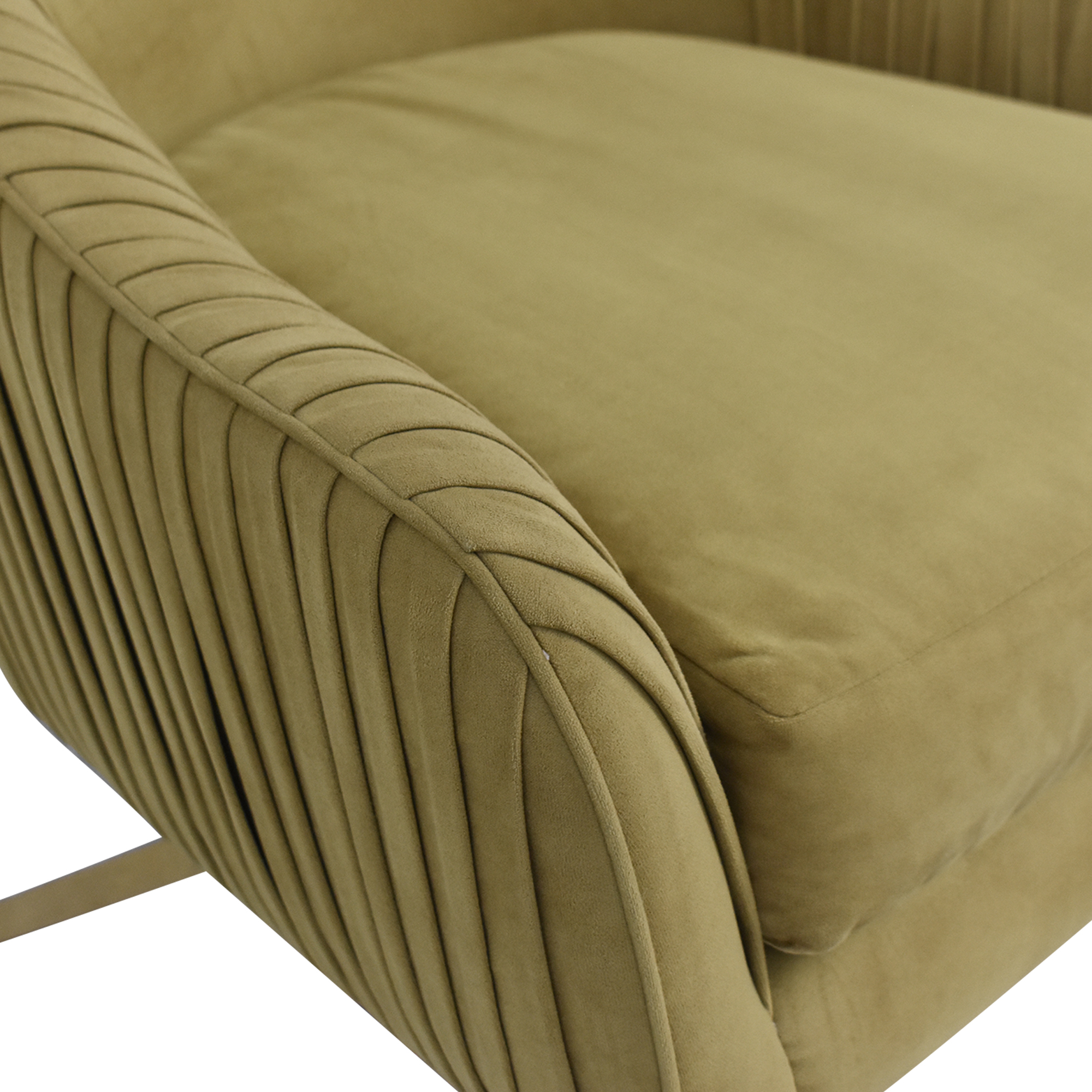 shop West Elm West Elm Roar & Rabbit Pleated Swivel Chair online
