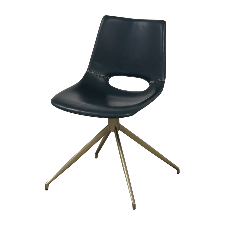shop Safavieh Danube Swivel Chairs Safavieh