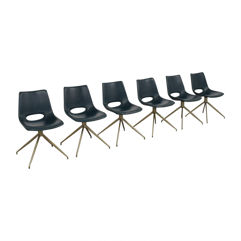 buy Safavieh Safavieh Danube Swivel Chairs online