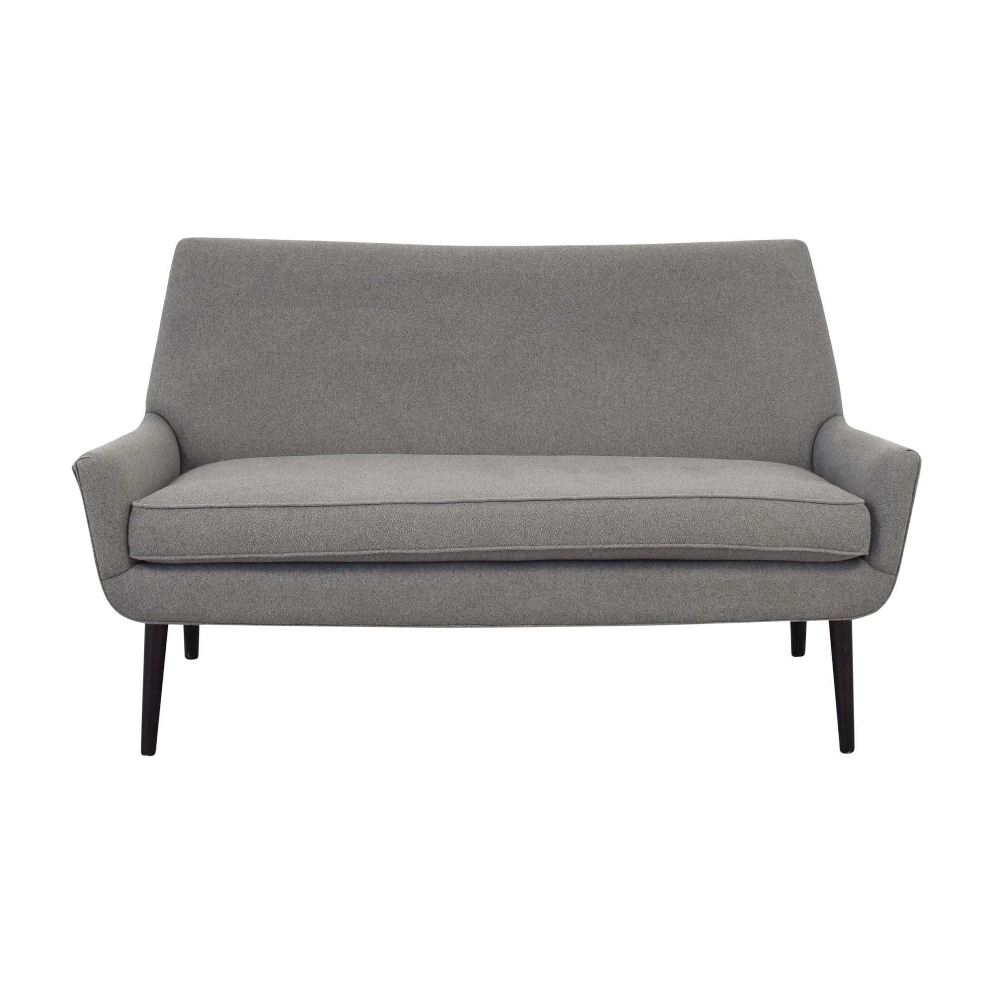 ABC Carpet & Home ABC Carpet & Home Grey Sofa Loveseat nj