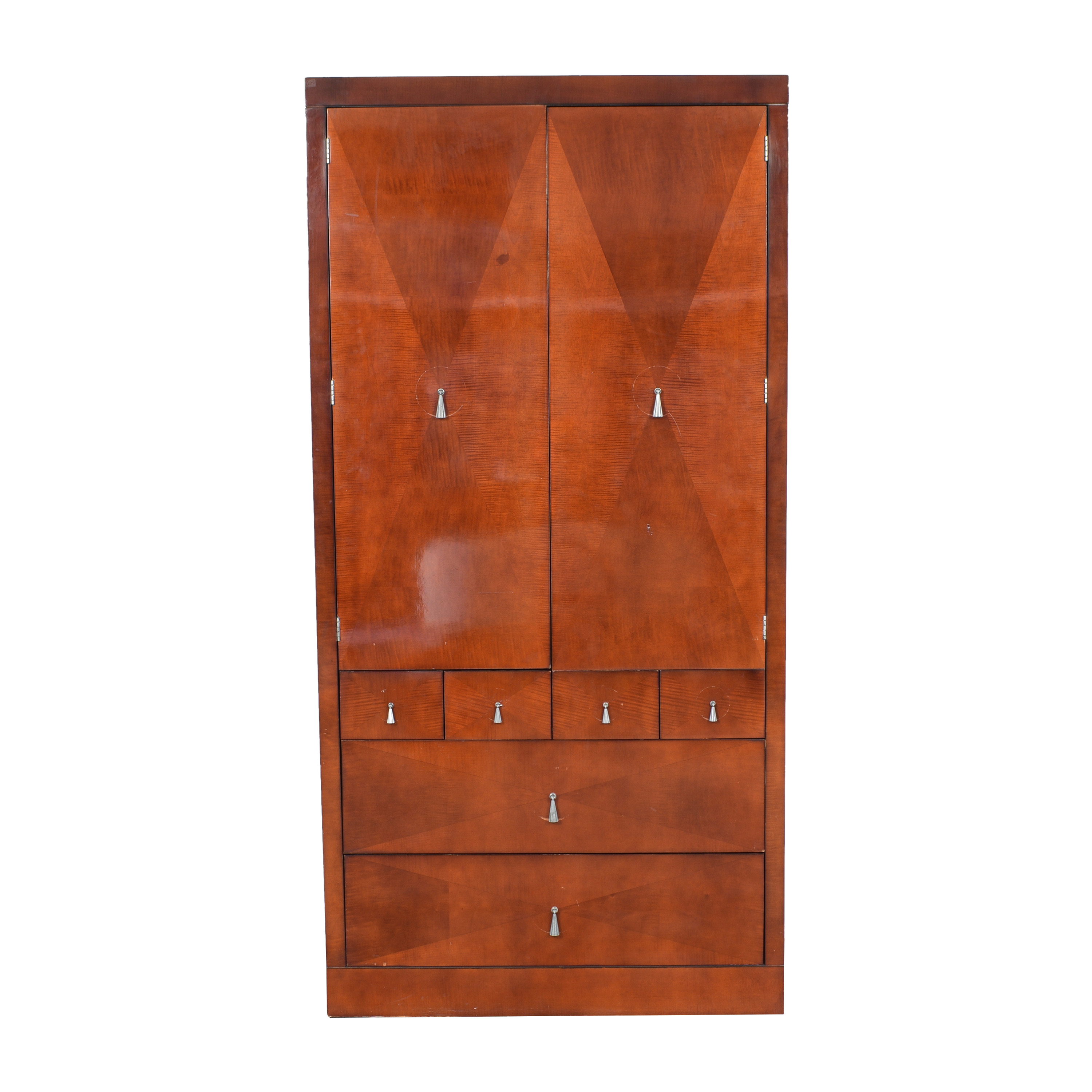 Baker Furniture Burled Armoire / Wardrobes & Armoires