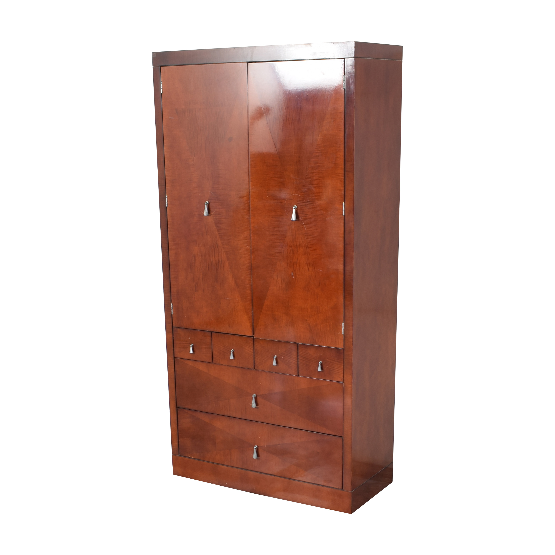 buy Baker Furniture Burled Armoire Baker Furniture
