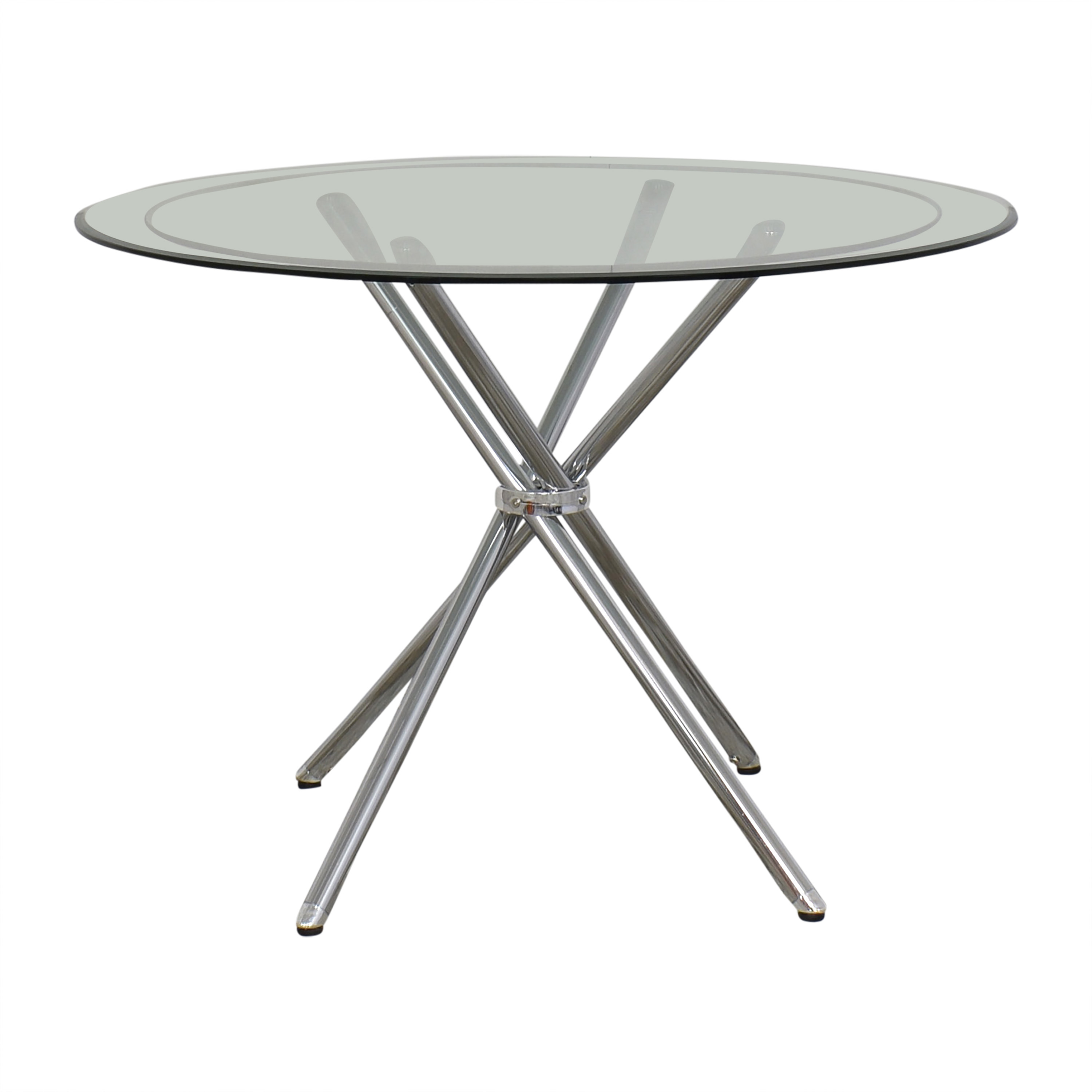 Glass Top Dining Table ma