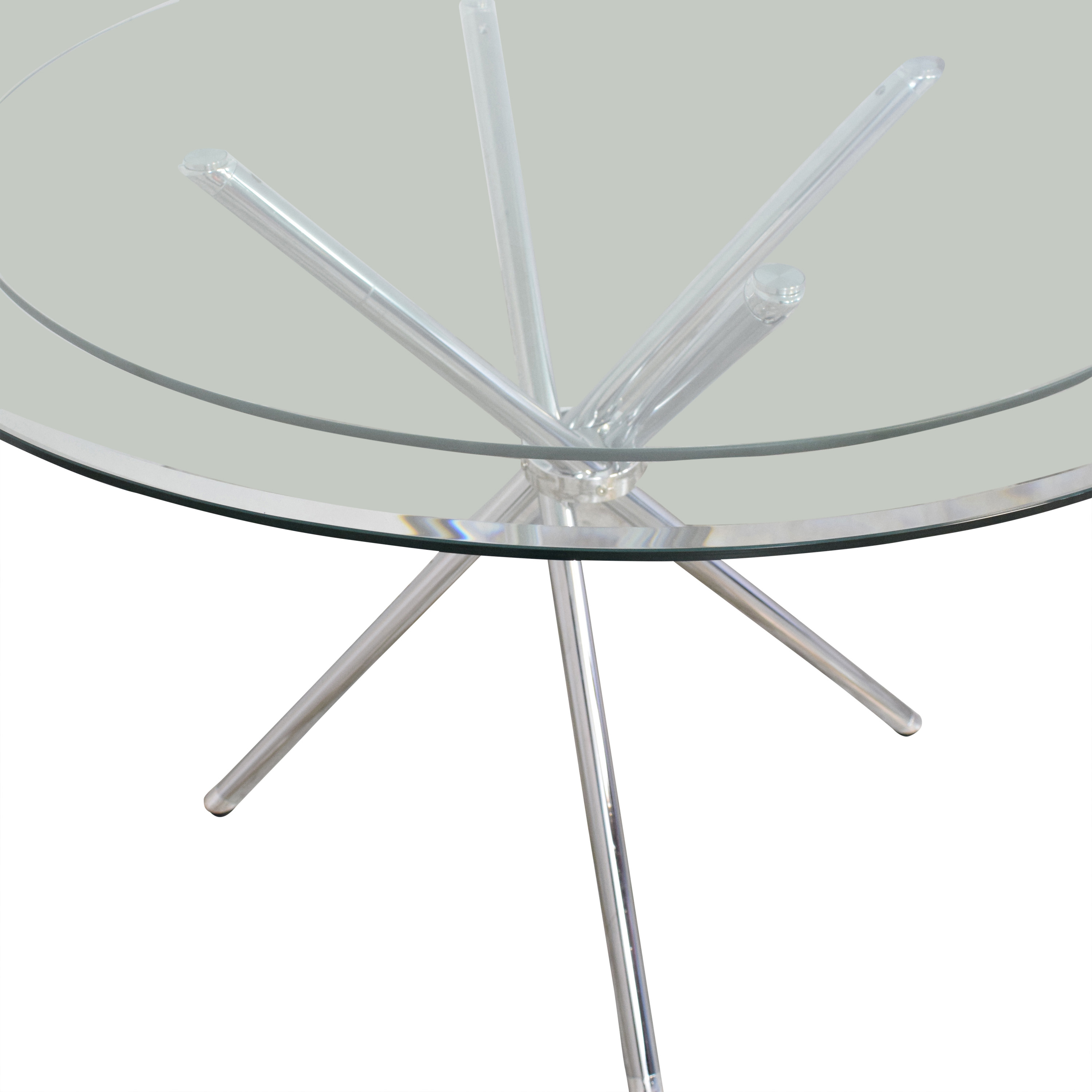 Glass Top Dining Table nyc