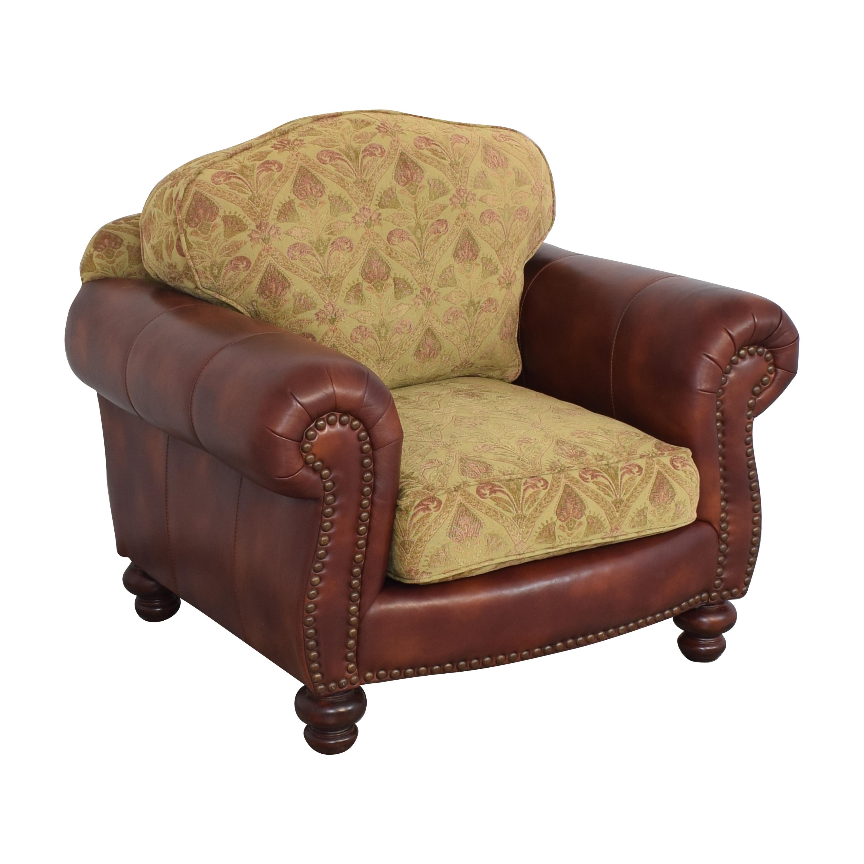 Distinctions Furniture Distinctions Furniture Nailhead Club Chair with Cushions
