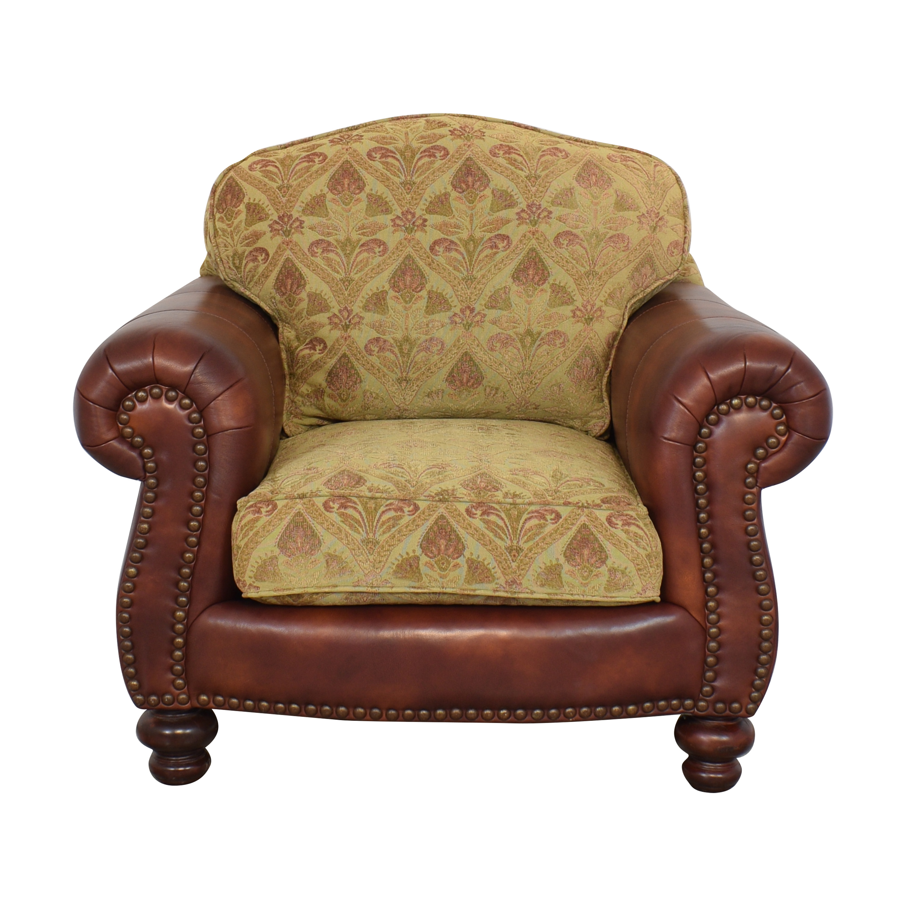 shop Distinctions Furniture Distinctions Furniture Nailhead Club Chair with Cushions online
