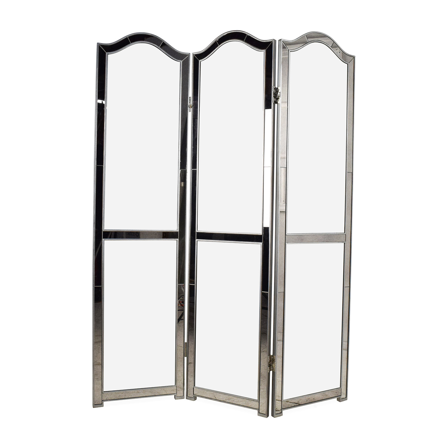 Pier 1 Hayworth Mirrored Room Divider sale