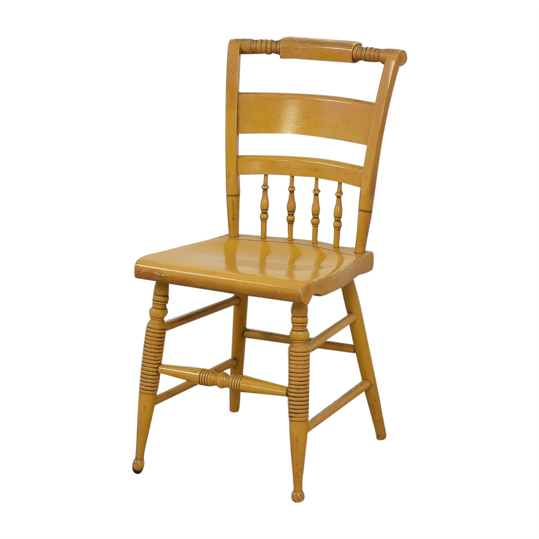 Nichols & Stone Nichols & Stone Vintage Dinner Chairs dimensions