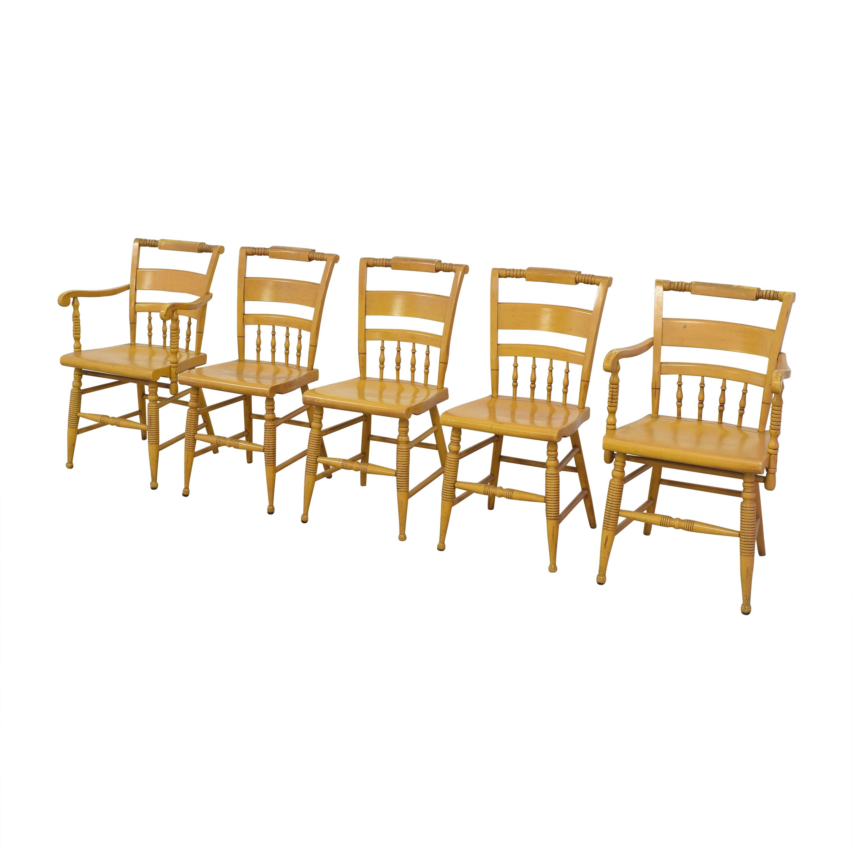 Nichols & Stone Nichols & Stone Vintage Dinner Chairs brown