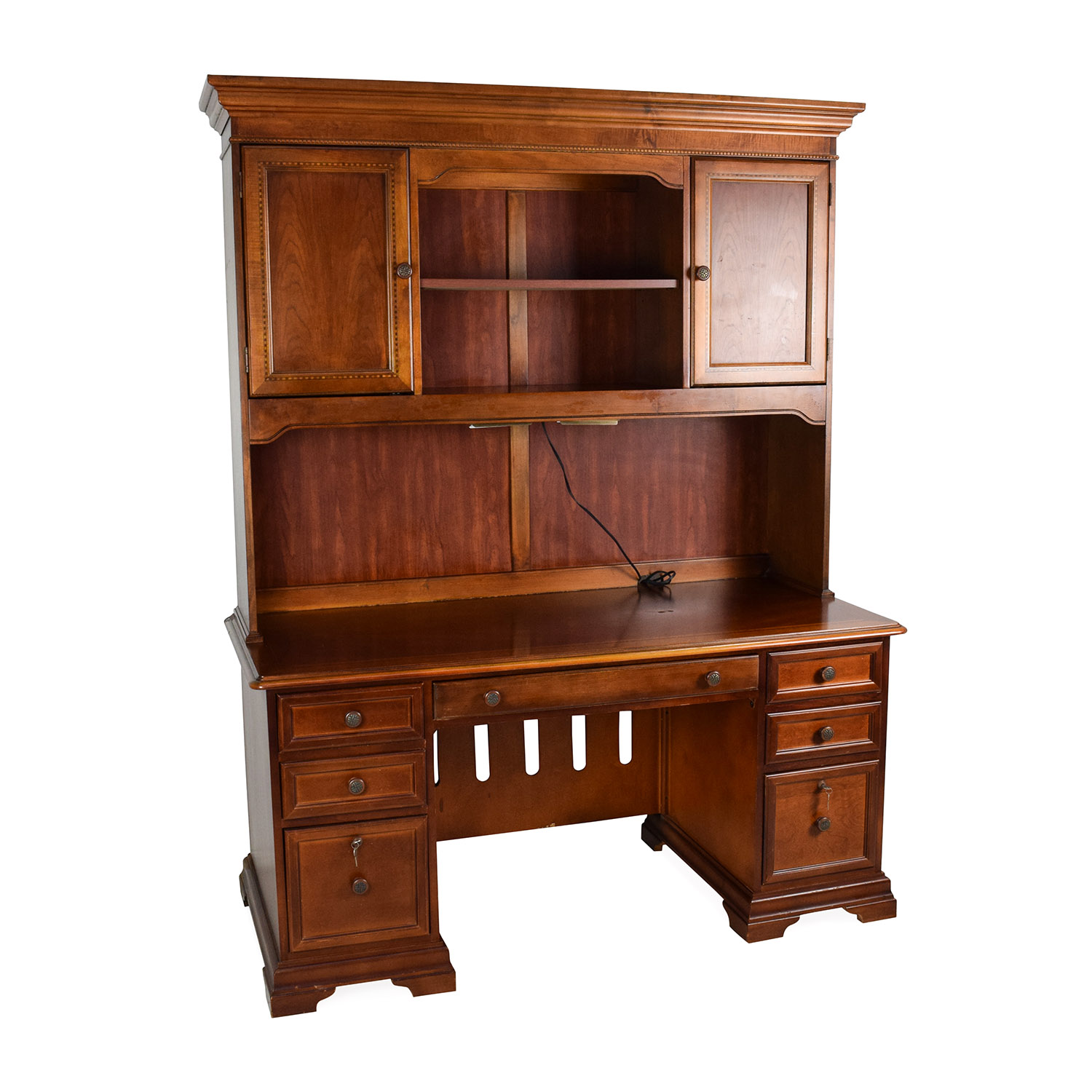 Hammary Furniture Hammary Furniture Wooden Desk with Hutch discount