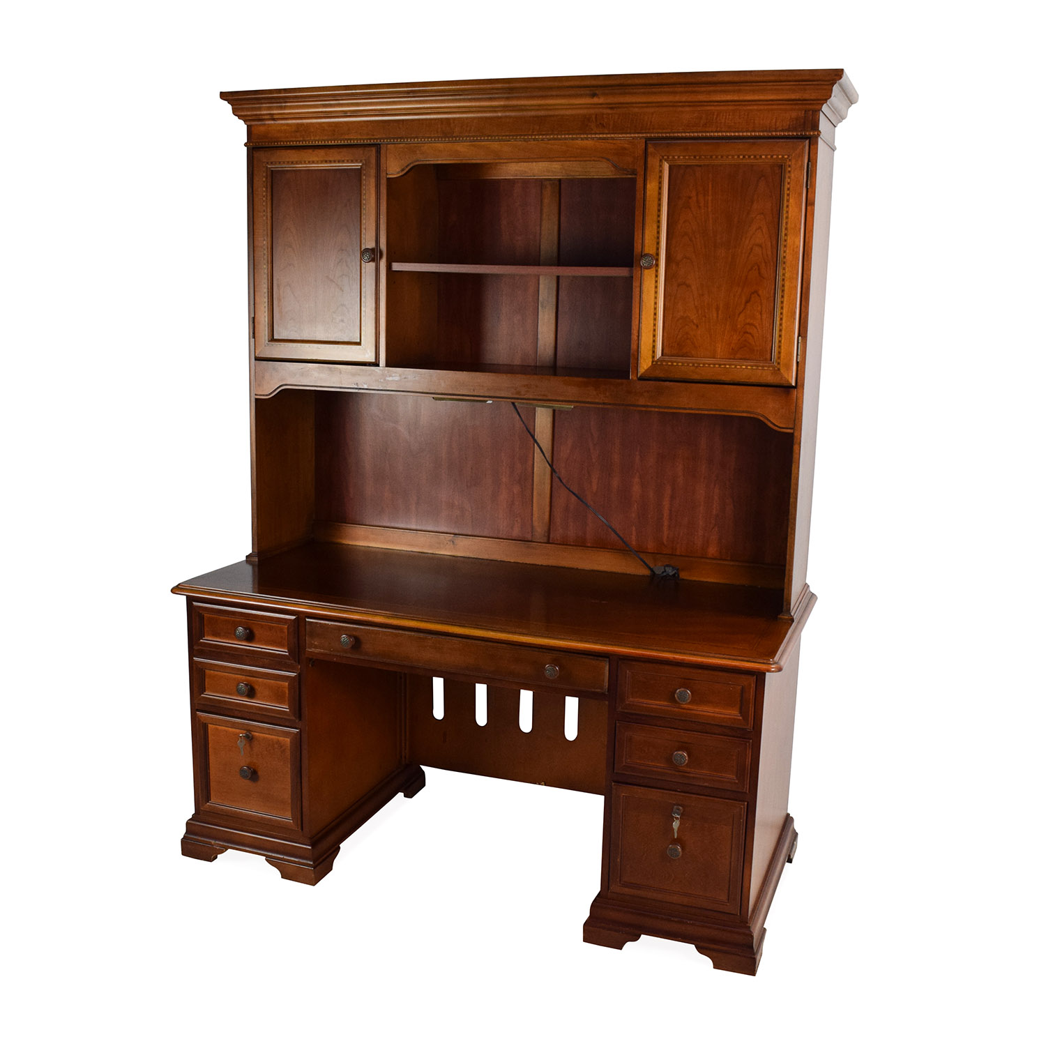 79 off hammary furniture hammary furniture wooden desk for Wooden home furnichers