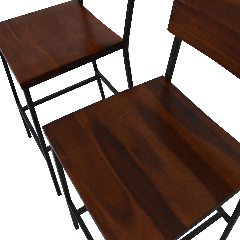 buy West Elm Rustic Bar Stools West Elm Chairs