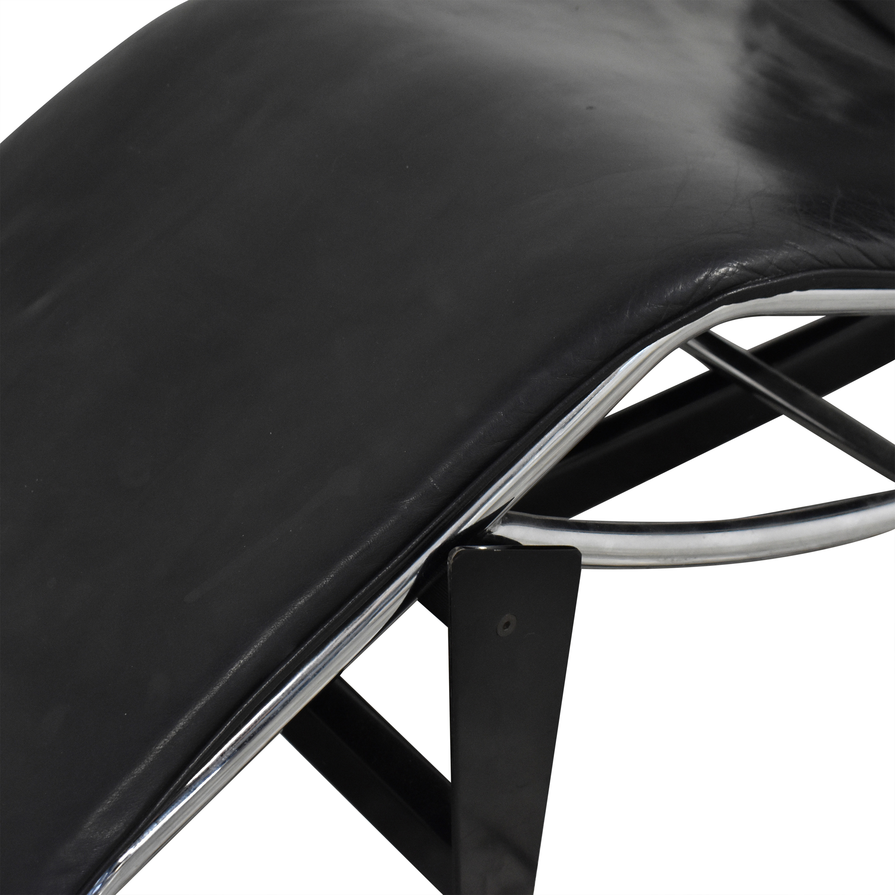 Le Corbusier-Style LC4 Chaise Lounge used