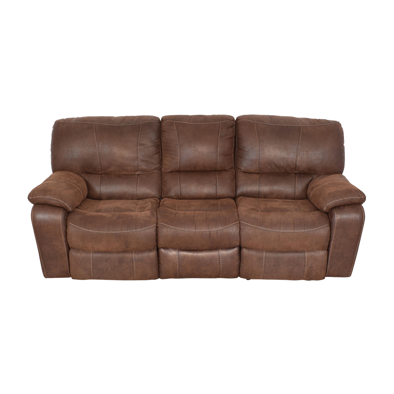 Three Seat Reclining Sofa