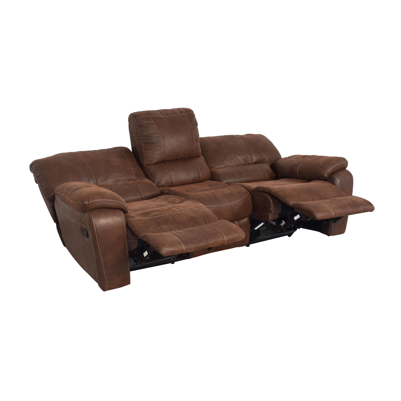 shop Three Seat Reclining Sofa  Classic Sofas