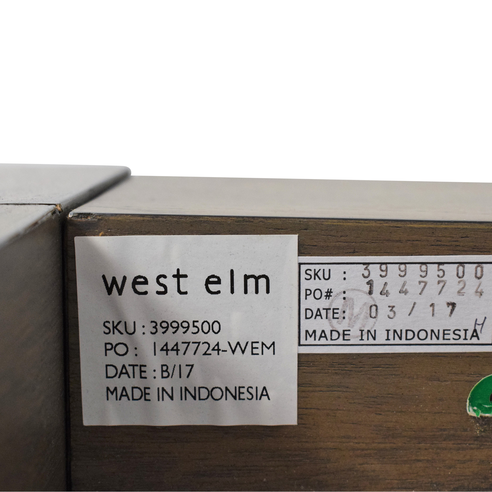 buy West Elm Queen Massaro Platform Bed West Elm Bed Frames