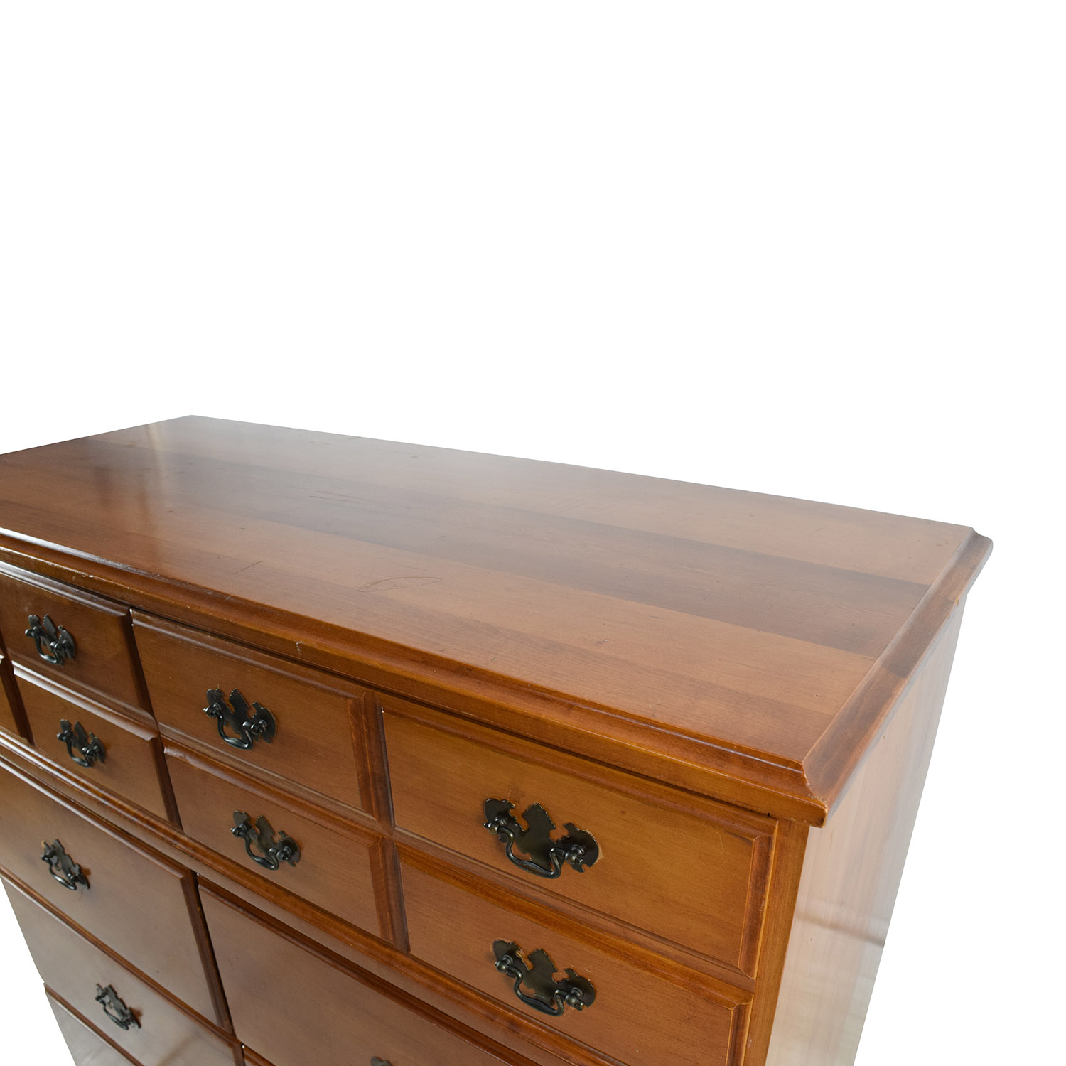 62 Off Antique Wooden Dresser Storage