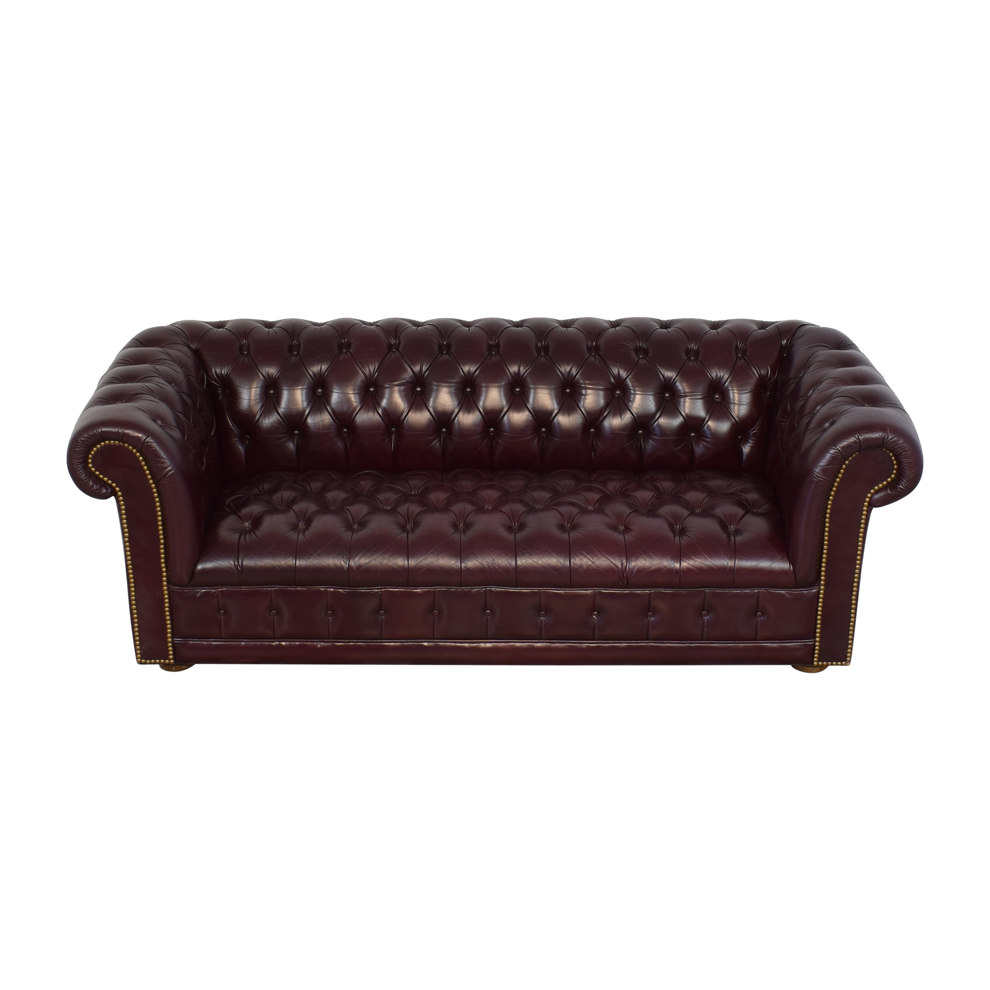 Leather Chesterfield Sofa used