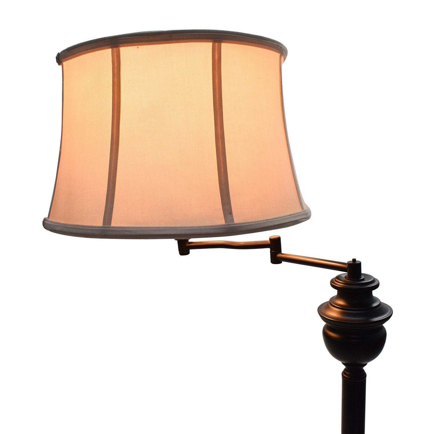 56 Off Macy S Macy S Swing Arm Floor Lamp Decor