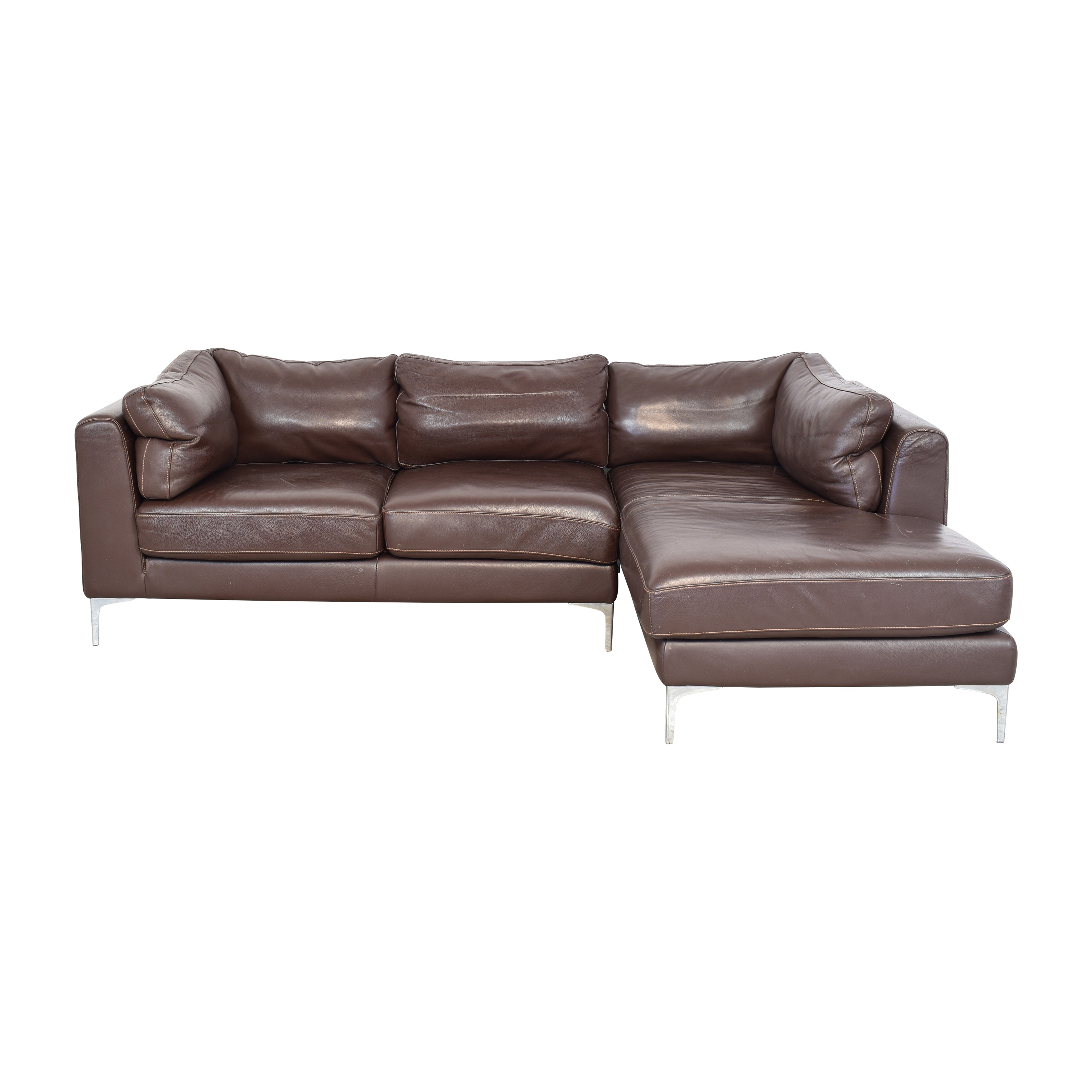 L-Shaped Chaise Sectional Sofa / Sofas