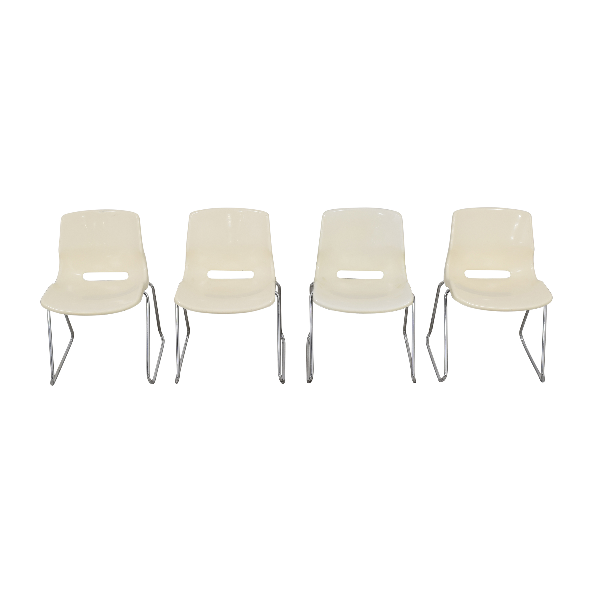 Overman by Svante Schoblom Swedish Stacking Dining Chairs / Chairs