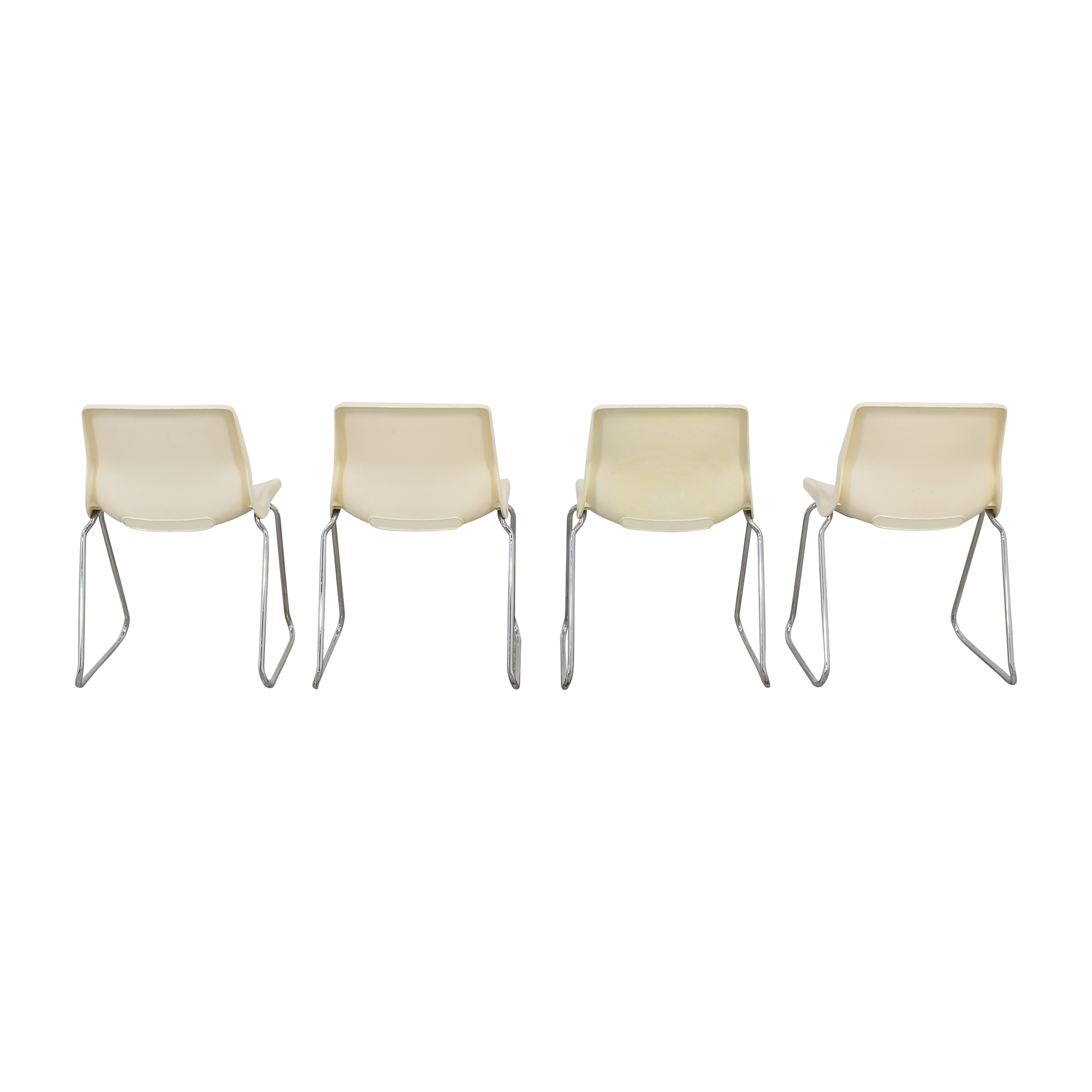 Overman by Svante Schoblom Swedish Stacking Dining Chairs Overman