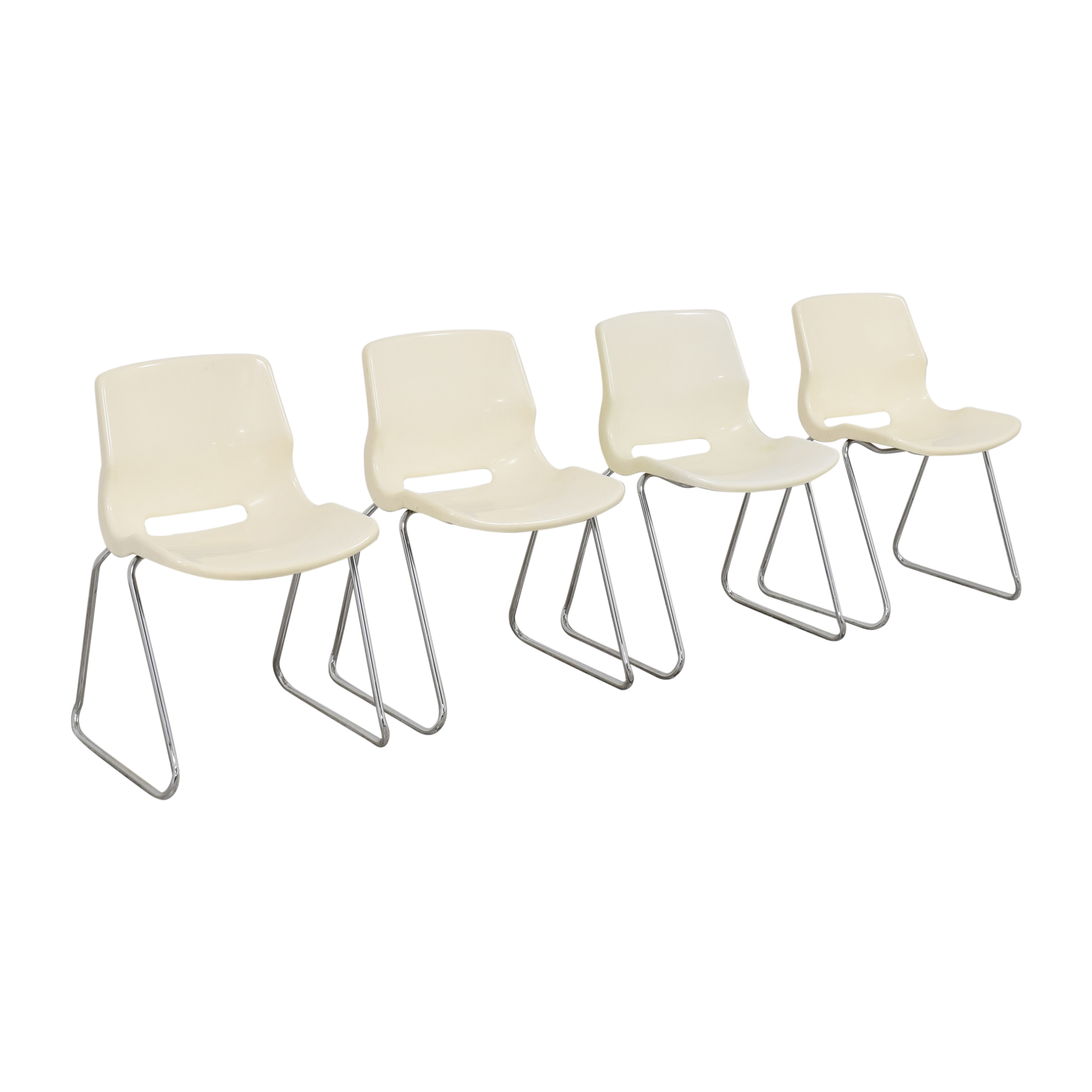 Overman Overman by Svante Schoblom Swedish Stacking Dining Chairs ct