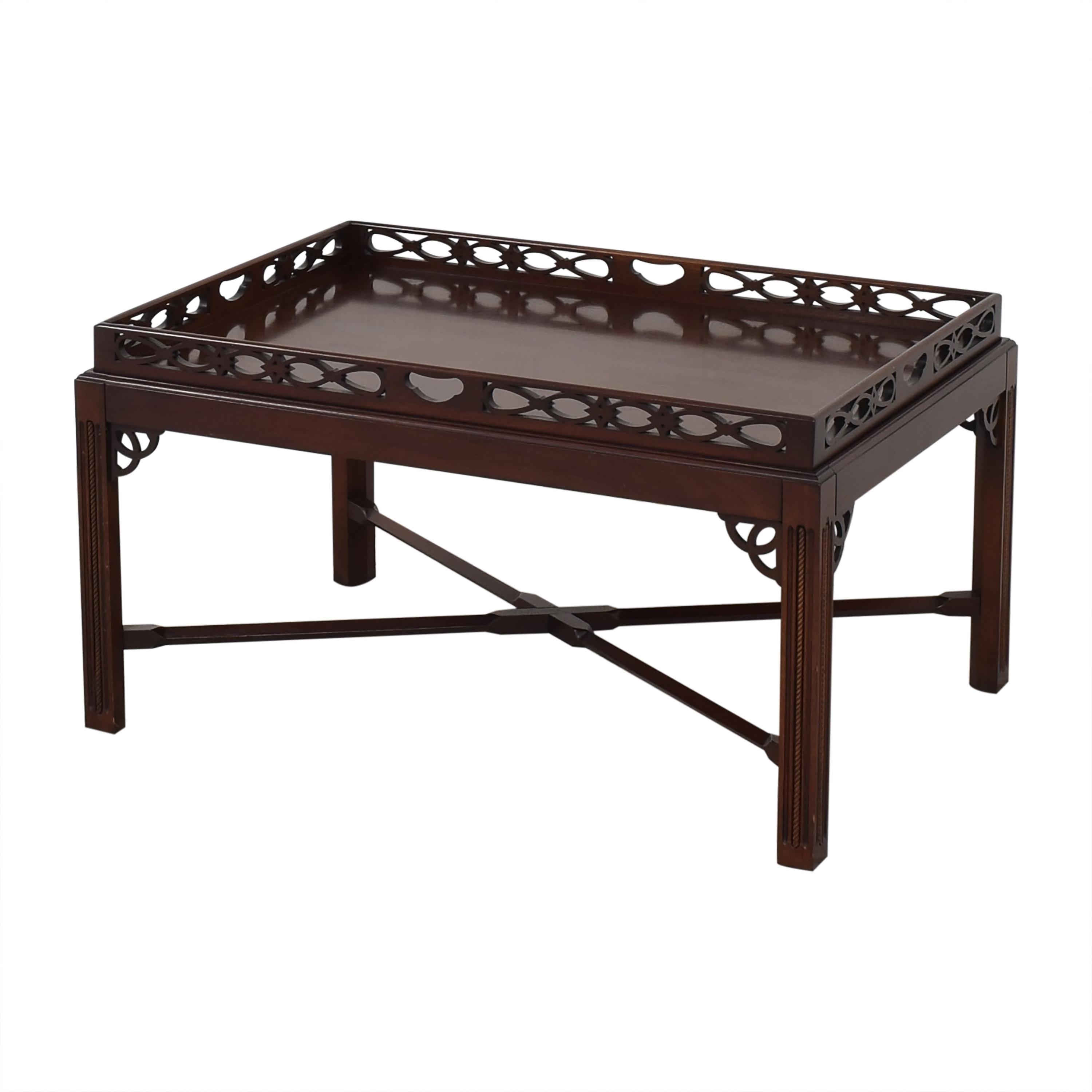 Tray Top Coffee Table second hand