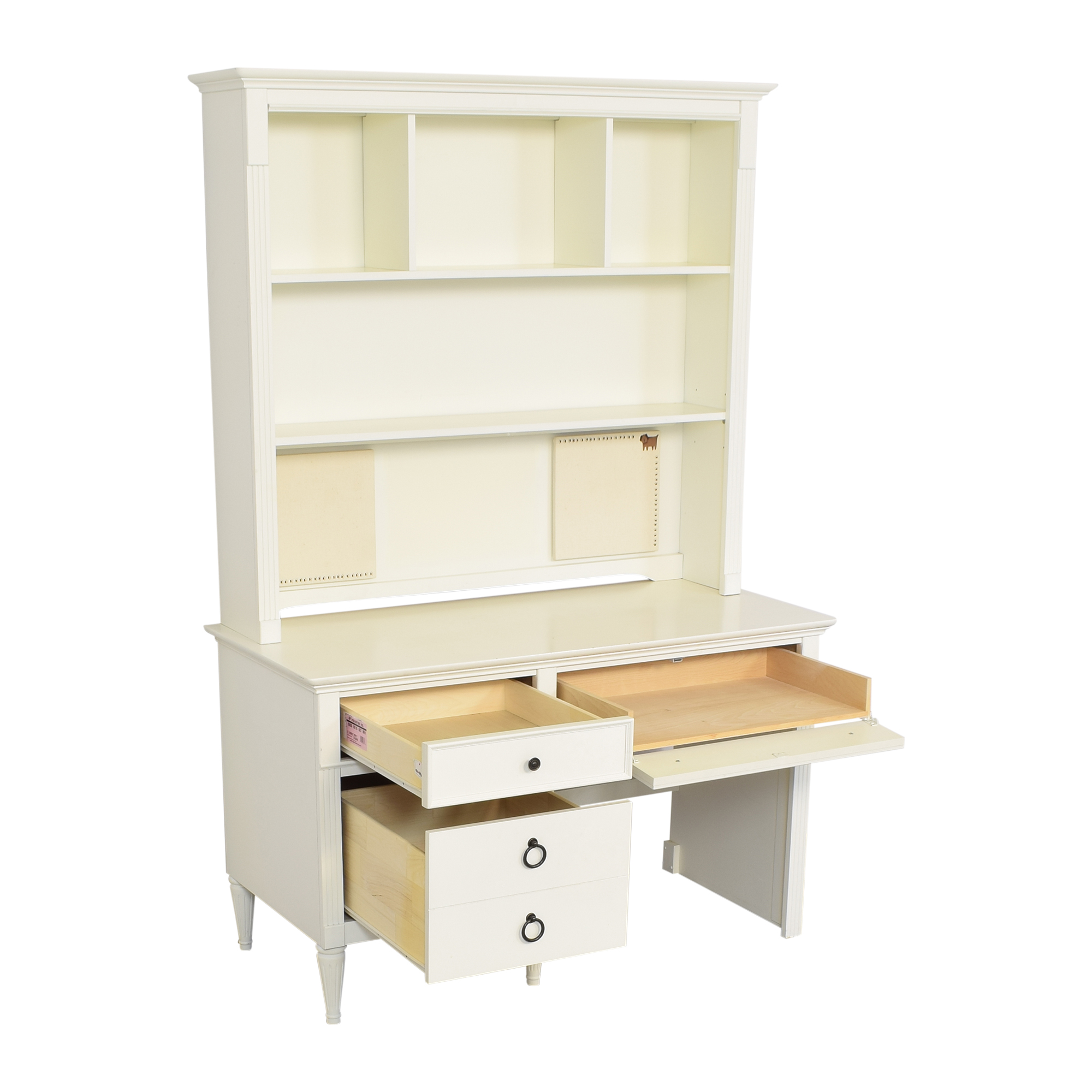 AP Industries Mary-Kate and Ashley Collection Desk with Hutch discount