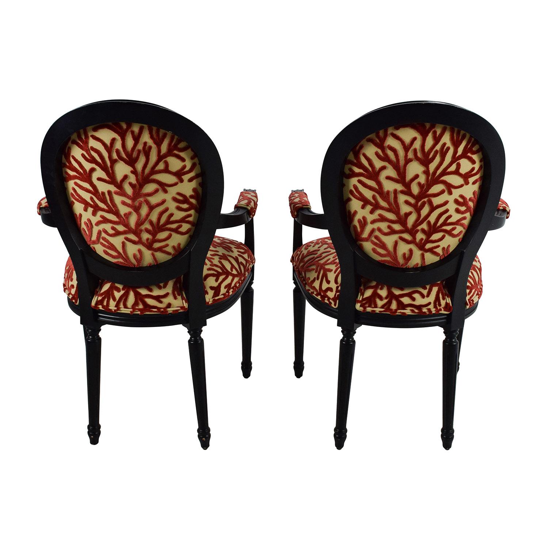 84 off ballard designs ballard designs oval back louis for Chair back design names