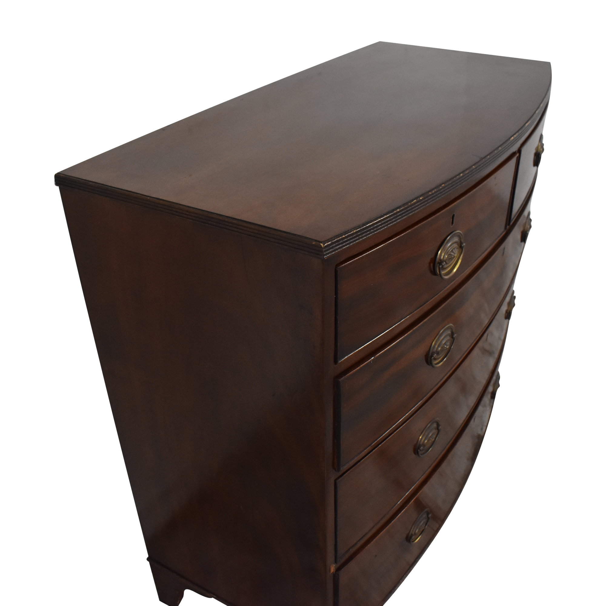 Vintage Bow Front Chest pa