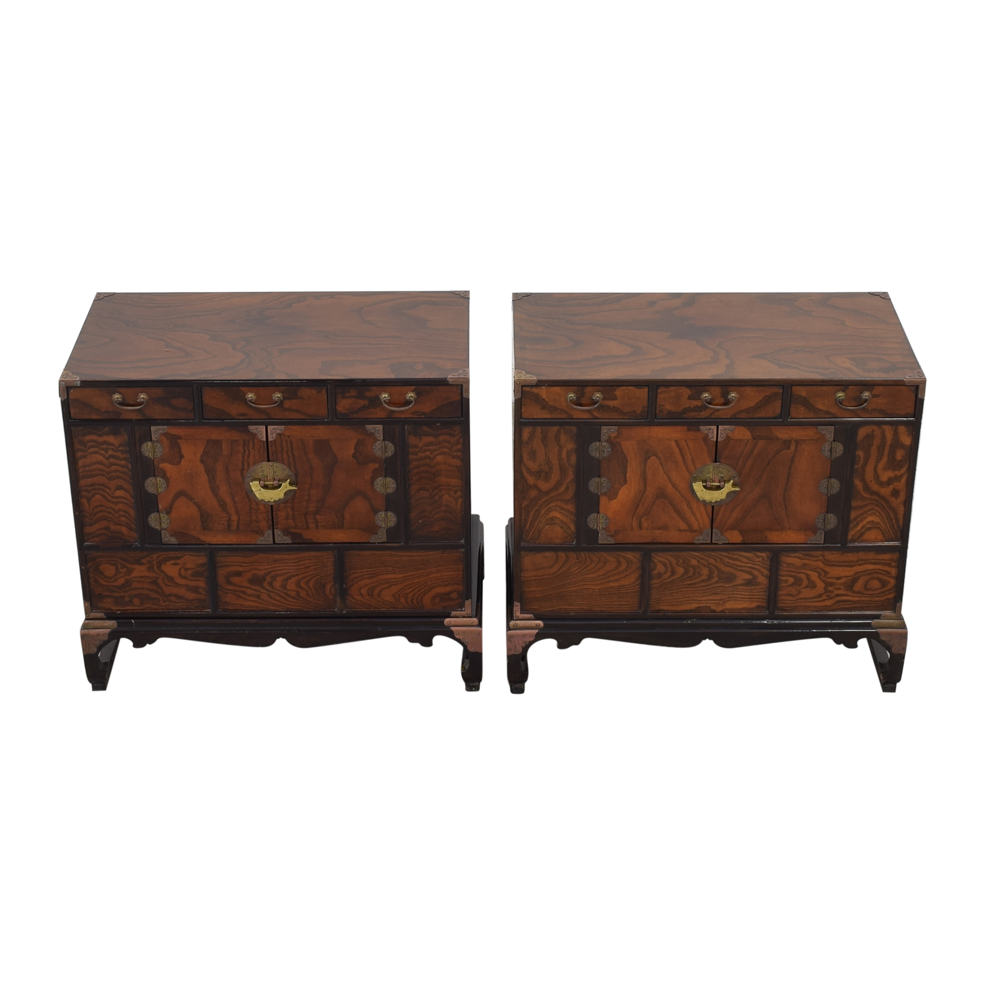 Asian Style Nightstands second hand