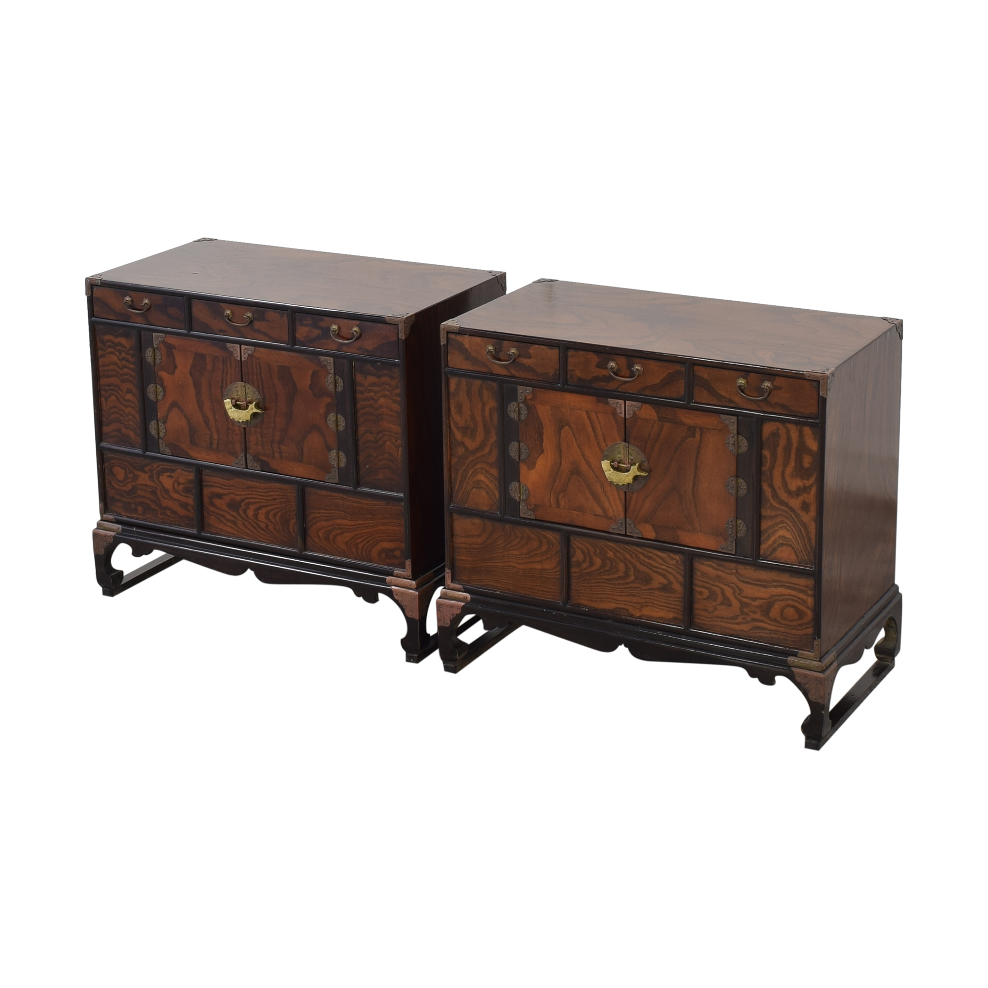 Asian Style Nightstands discount