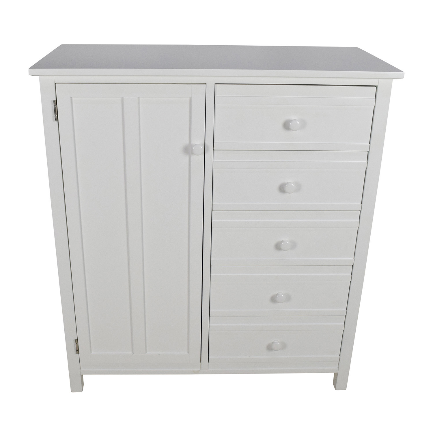 buy Crate & Barrel Brighton White Wardrobe Crate and Barrel