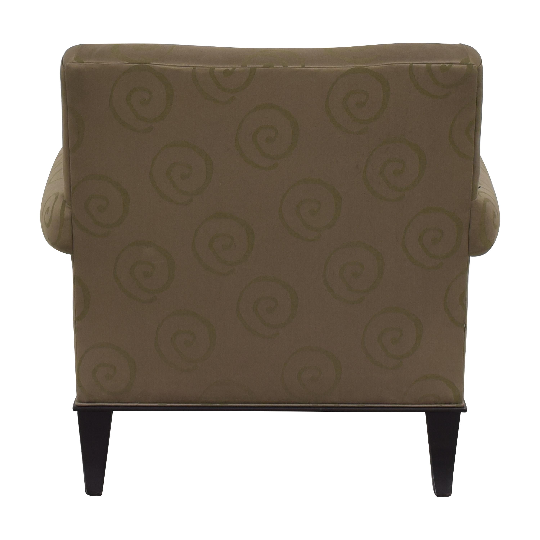 Baker Furniture Baker Roll Arm Lounge Chair ma